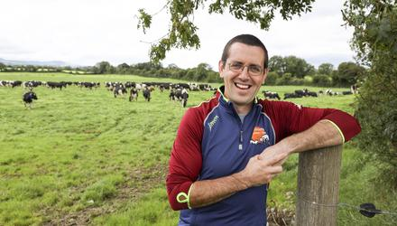 Be aware: Eamon O'Connell warns that if cows eat wire, they can develop a heart condition that will probably kill them. Photo: Alf Harvey
