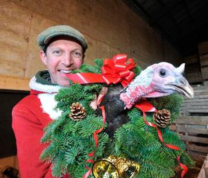 """Fallout: Darragh McCullough says the market for his 20lb Christmas turkeys might evaporate due to the fallout from the Covid-19 crisis: """"If the family gatherings are all 20pc smaller, that's a 20pc smaller bird they'll be looking for."""""""