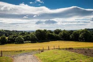 The 100ac residential holding is located close to Delgany, Co Wicklow.
