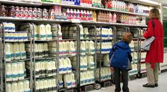 Around 800m litres of Northern Irish milk travels into the Republic for processing on an annual basis and makes up 15pc of the Irish processing pool.