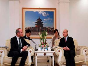 MInister Simon Coveney in China last year