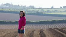 Nora Sheehan on her farm near Castletownroche,  Co Cork. Photo: Clare Keogh