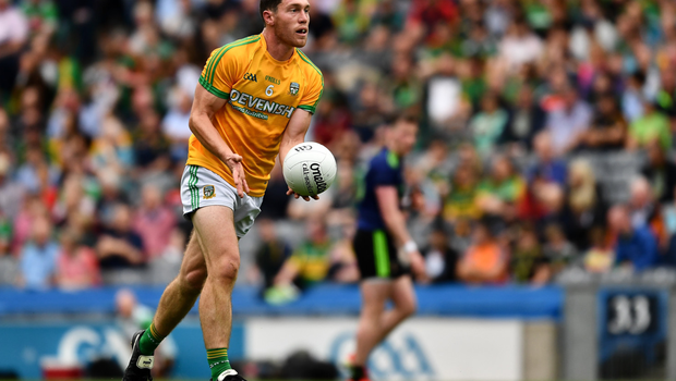 Padraic in action for Meath versus Mayo in last year's Super 8s. Photo by Ray McManus/Sportsfile