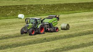 New wave: Fendt has introduced the Rotana, a new generation of round balers that spawn from AGCO's takeover of Lely Welger's grassland division.