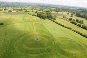 The Hill of Tara, with its Iron Age hilltop enclosure, is Ireland's ancient capital. It is a candidate Unesco world heritage site.