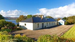 The cottage on 12ac is located 15km north of Castlebar and has fine views of Nephin Mountain