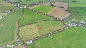 The tillage and grazing lands at Oberstown, Co Louth is for sale in three lots