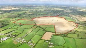 Rathcoffey Castle and farm, a 224.5ac non-residential tillage holding in north Kildare, made €2m towards the end of 2020.