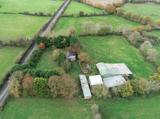 The farmstead on c20ac is being offered in one lot
