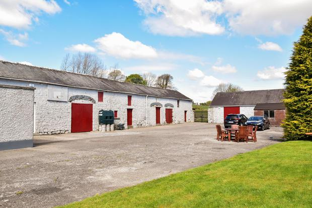 The original stone stables are in excellent condition with one converted to accommodate a two-storey office, fully wired and set out as a modern workspace.