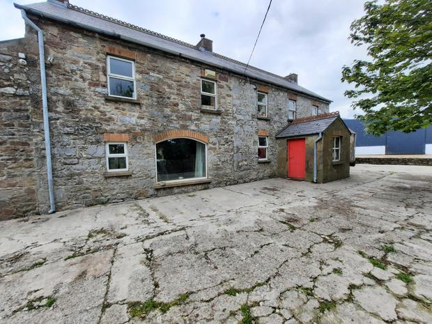 The Coolnanave stone farmhouse has been completely renovated and refurbished
