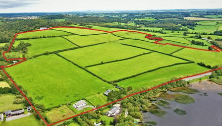 The farm at Glenbower, Coolbawn, Co Tipperary can be bought as an entire or in lots