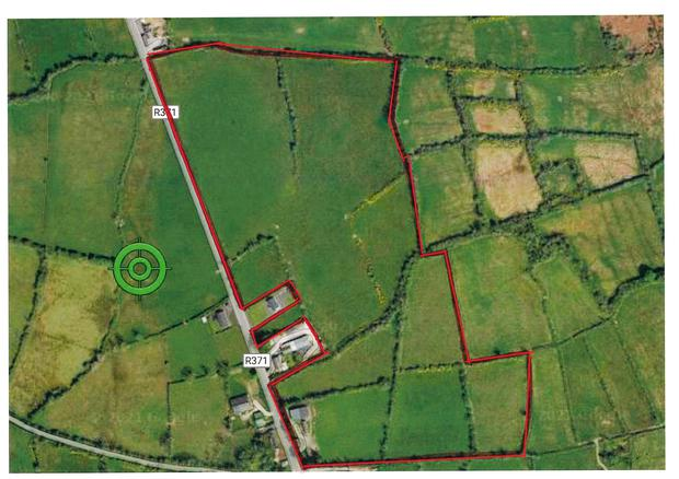 There is plenty of road frontage with the farm at Lanesboro