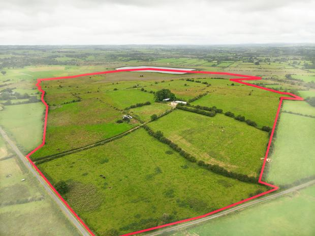 The Killukin farm extends to 133.4ac and is all in one block