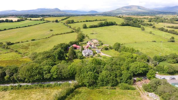 The 73ac residential farm is located close to Newport and the Great Western Greenway.