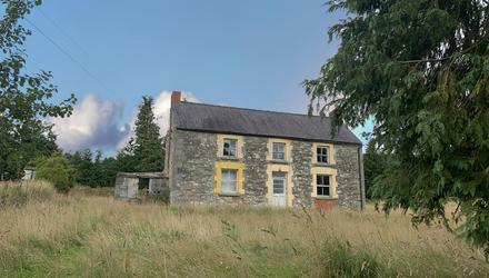 Opportunity: The house at Craffield, Aughrim, Co Wicklow, has not been lived in for five years, but the land is good quality