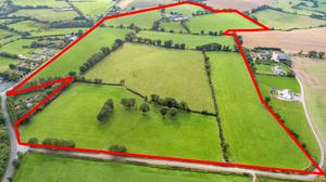 The holding at Ballykillane and Kilconnaught is a residential tillage farm with extensive outbuildings