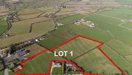 This parcel of ground at Duncormick extends to 10.42acand is suitable for grazing or tillage
