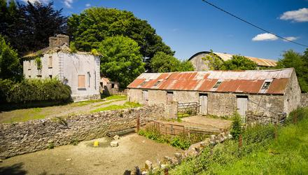 Potential: The 70ac farm with derelict residence at Granardkill, Granard, Co Longford