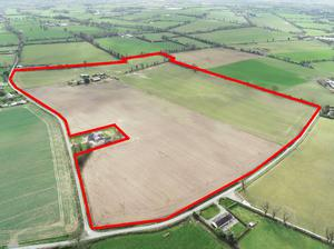 The home farm at Maplestown, Carlow was part of a dispersed 188ac holding sold for €2.46m