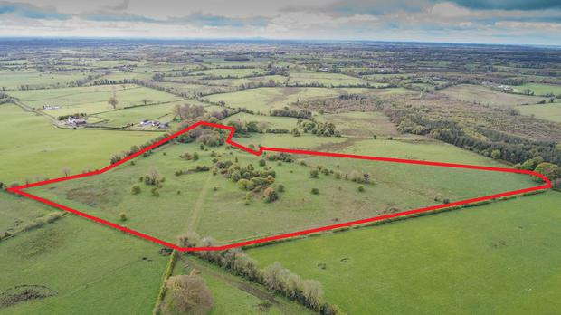 The second lot of 19ac at Edmondstown is accessed by a right-of-way