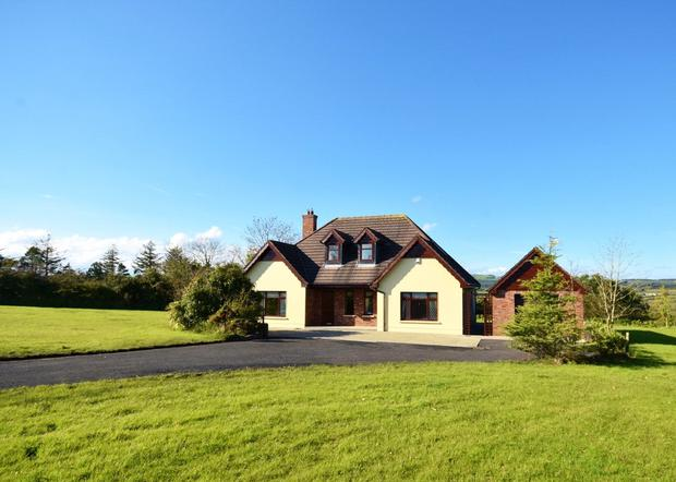 A modern dormer bungalow on 1ac a is sale agreed with 6ac