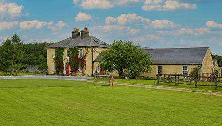 The organic farm at Lanespark, Ballynonty near Thurles is built around this five-bedroom period house