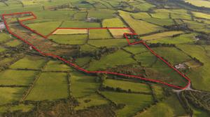The 65ac farm at Derryroe, Macroom has c.40ac of top quality pasture with the remaining c.25ac in need of attention.