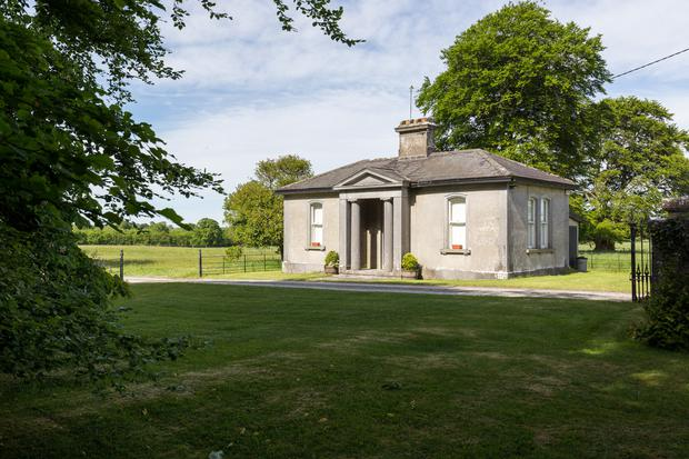 The renovated gate lodge is one of five separate properties on the estate