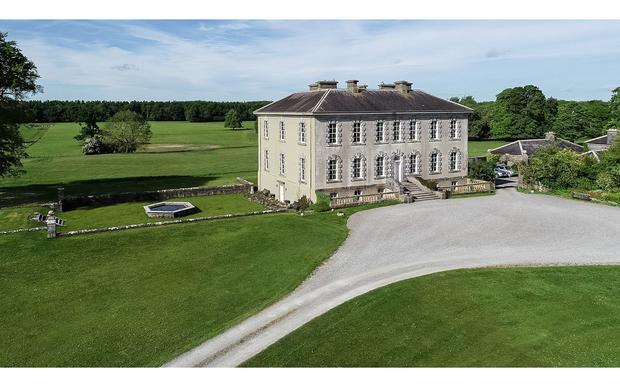 Sopwell Hall stands on 300ac near Cloughjordan in Co Tipperary