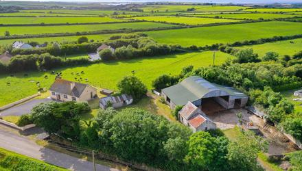 Inviting: The three-bedroom bungalow with the farm at Ballygarron, The Spa, Tralee can be bought with 1.6ac