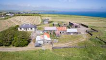 There were four bidders involved in the chase for the 16ac farm, residence and outbuildings on the Old Head of Kinsale