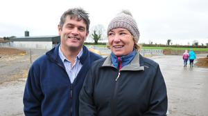 Peter and Jenny Young, who are based in Athy, Co Kildare