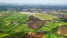 Going green: The 80 ac site of Lisheen Mines is on the market for €11m