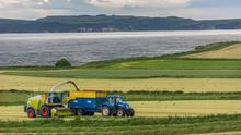 Danger: silage season is a time when contractors and farmers are working even longer hours than usual and unfortunately, accidents do happen