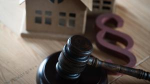 Can a family member lay claim to a property left in a will to the beneficiaries?