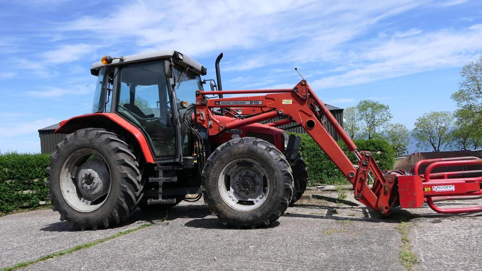 When thinking of buying a second-hand tractor, there are a number of items that need to be looked at