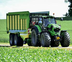 Speed: Rapid transport performance is seen as a major requirement by Deutz Fahr