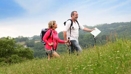 Many landowners are willing to allow access to their lands. Stock image