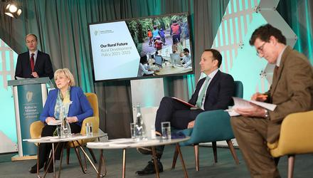 Launch of 'Our Rural Future - Rural Development Policy 2021-2025'. Photo: Julien Behal