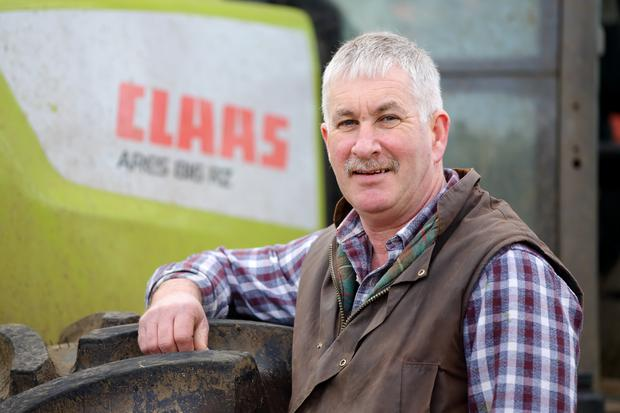 Ulster Farmers' Union deputy president Victor Chestnutt said there could be barriers to the export of animal waste following a no-deal Brexit (UFU/PA).