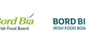 Before and after: The old Bord Bia logo (left) and the €60,000 rebrand