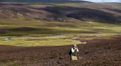 The Environment Secretary spoke in support of a public interest test for significant land transfer (Jane Barlow/PA)