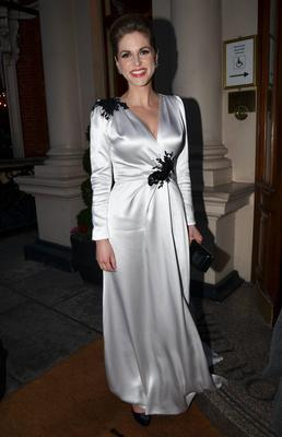 The actress often champions young Irish designer and her choice of dress for the 2012 IFTAs was by Dawn Fitzgerald who has a shop in the Powerscourt Town Centre.