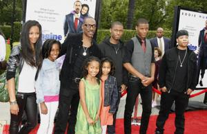 Let's just say, it's a good thing Eddie Murphy is a multi-millionaire with the size of his brood: Bria, 23, Mitchell, 20, Shayne, 18, Zola, 13, and Bella, 10. He's also dad to Eric, 23, Christian, 22, and Angel Iris, 5.