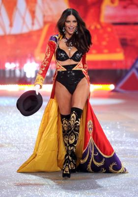 Adriana Lima stunned at last year's runway show.