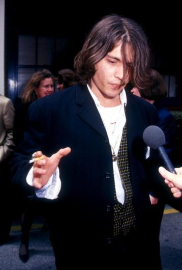 Johnny Depp during The 7th Annual IFP/West Independent Spirit Awards
