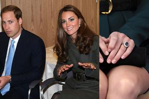 The future Duchess of Cambridge was given the late Princess Dianas engagement ring, an 18-carat sapphire and diamond one by Prince William. It was my way to make sure my mother did not miss out on today and the excitement that we are going to spend the rest of our lives together, he said.