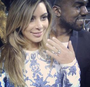 Kanye West proposed to Kim Kardashian in front of the cameras