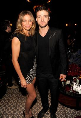 Cameron Diaz, 40, dated Justin Timberlake, 32, for four years.